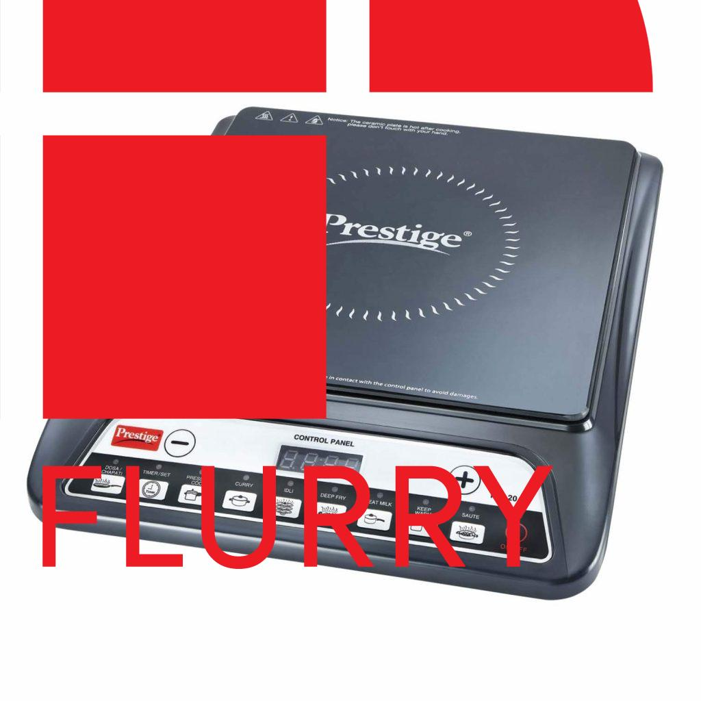 Prestige PIC 20 1200 Watt Induction Cooktop with Push Button - Best Induction Cooktops in India